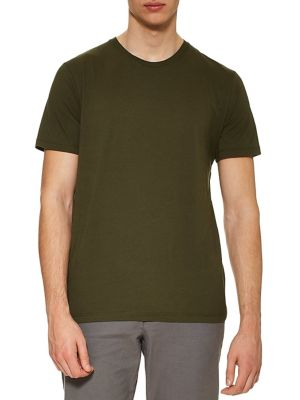 6a9f0afe Product image. QUICK VIEW. TOPMAN. Classic Fit Cotton Tee