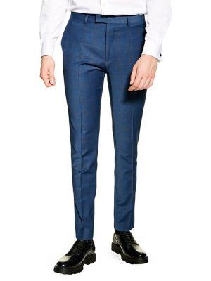 07ee4d8c TOPMAN. Jude Skinny Suit Trousers. $89.00 · Glen Check Dress Pants NAVY.  QUICK VIEW. Product image