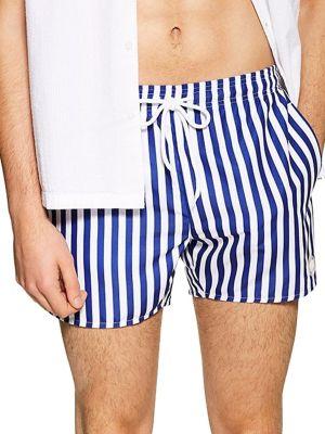f0ff4a6c410 QUICK VIEW. TOPMAN. Striped Swim Shorts