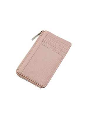 Lotta Leather Zip Card Holder by Ted Baker London