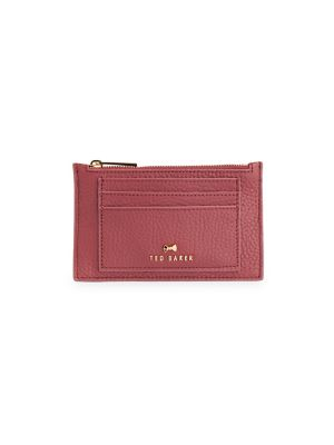 Yarro Leather Zip Card Holder by Ted Baker London