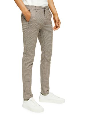 cf76ac8989 Heritage Check-Print Skinny Fit Trouser BROWN. QUICK VIEW. Product image.  QUICK VIEW. TOPMAN