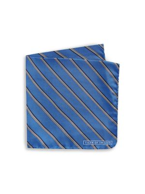 94ef165551d4 Prim Striped Silk Handkerchief BLUE. QUICK VIEW. Product image