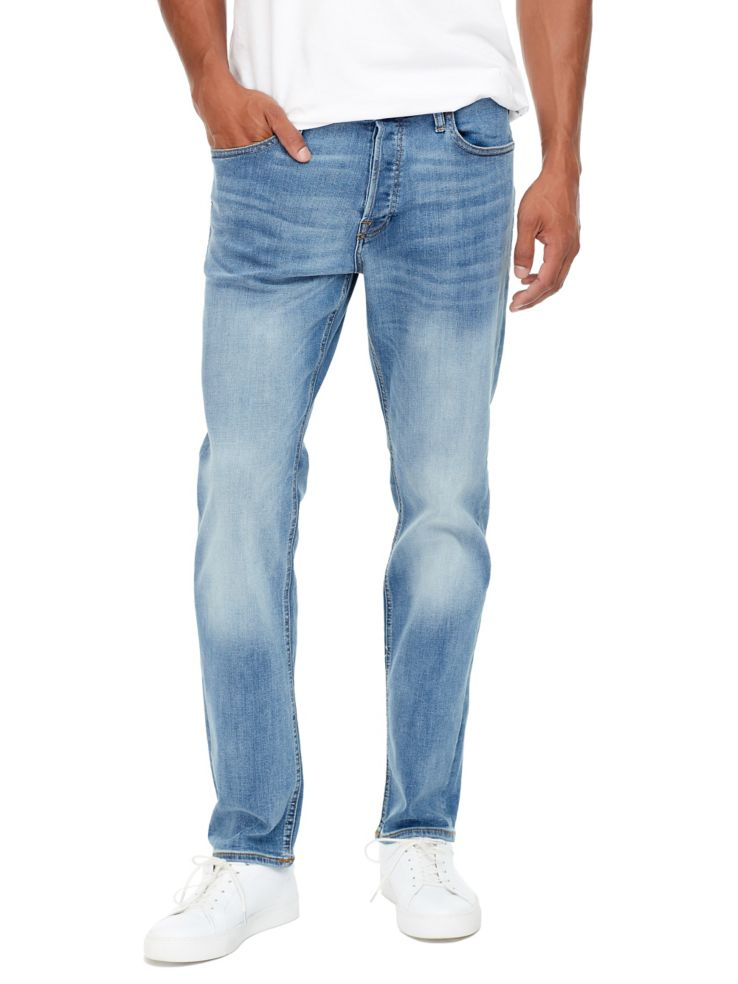 Washed Regular Fit Jeans by Jack & Jones