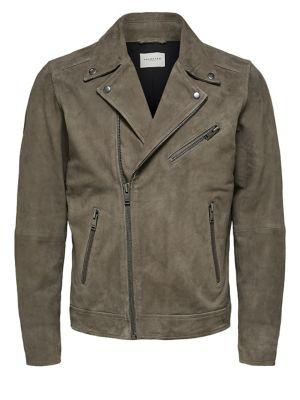 Homme - Vêtements pour homme - Manteaux et vestes - Vestes en cuir ... 7531d2c9442