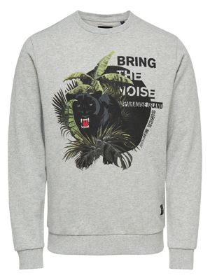 dae957948 QUICK VIEW. Only and Sons. Graphic Long-Sleeve Cotton Sweatshirt