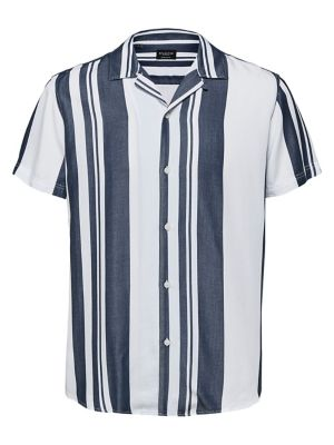 3056d7d98 QUICK VIEW. Selected Homme. Striped Regular-Fit Button-Down Shirt