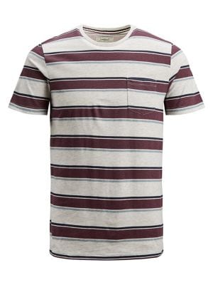 ac105fd75c7d QUICK VIEW. Produkt. Striped Cotton Pocket Tee