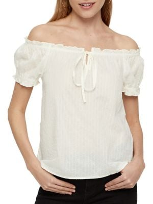 5797b7b3d QUICK VIEW. VERO MODA. Soleima Off-The-Shoulder Cotton Top