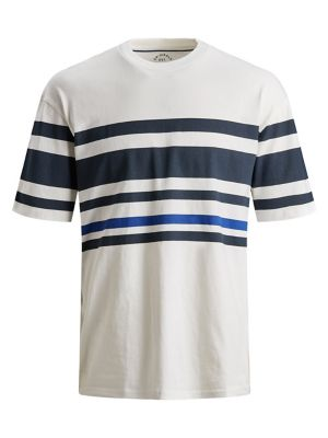c81a918e QUICK VIEW. Jack & Jones. Striped Cotton Tee