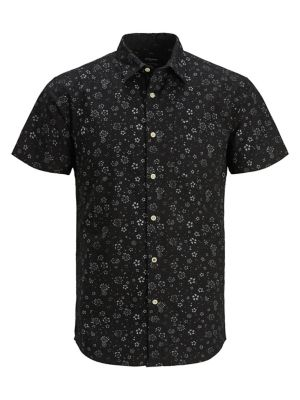 c58023f16752 QUICK VIEW. Jack & Jones Premium. Printed Button-Down Shirt