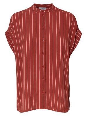 ba936ce1be4 QUICK VIEW. VERO MODA. Helle Striped Button-Front Shirt