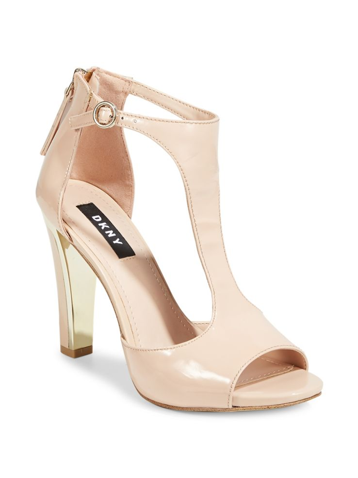 72aba9429df DKNY - Colby Suede T-Strap Sandals - thebay.com
