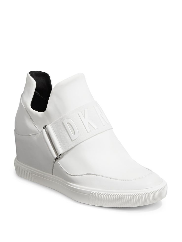 292a1970287 DKNY - Cosmos Wedge Platfrom Sneaker - thebay.com