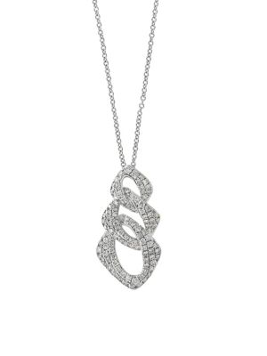 fc596781ef 14K White Gold & 0.73 TCW Diamond Pendant Necklace