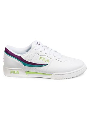4dfe089df2ecd0 Photo du produit. COUP D'OEIL. Fila. Chaussures sport fitness en cuir pour  homme