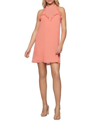 b9c29b8b31b QUICK VIEW. BCBGeneration. Ruffle Halter A-Line Dress