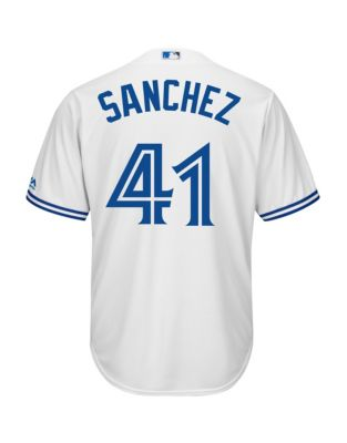 89cf2484 Product image. QUICK VIEW. Majestic. Aaron Sanchez Toronto Blue Jays Cool  Base Replica Home Jersey. $189.99