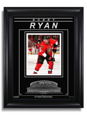 Art of the Sport Limited-Edition Bobby Ryan Ottawa Senators Action Engraved Framed Photo