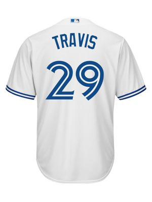 7c394381 QUICK VIEW. Majestic. Devon Travis Toronto Blue Jays MLB Jersey Tee.  $189.99. online only. everyday value · Randal Grichuk ...