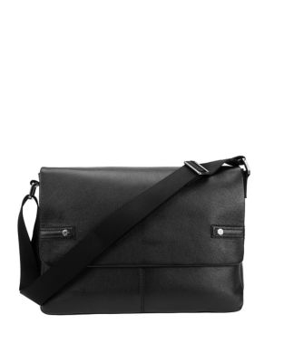 6604b7adc6 Product image. QUICK VIEW. Black Brown 1826. Jeff Leather Messenger Bag