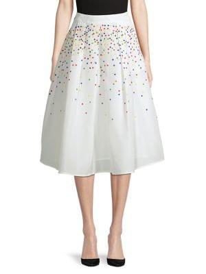 Holiday Confetti Midi Skirt