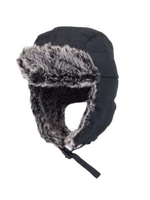 d3baf34c39656d Faux Fur-Trimmed Trapper Hat BLACK. QUICK VIEW. Product image. QUICK VIEW.  Dockers