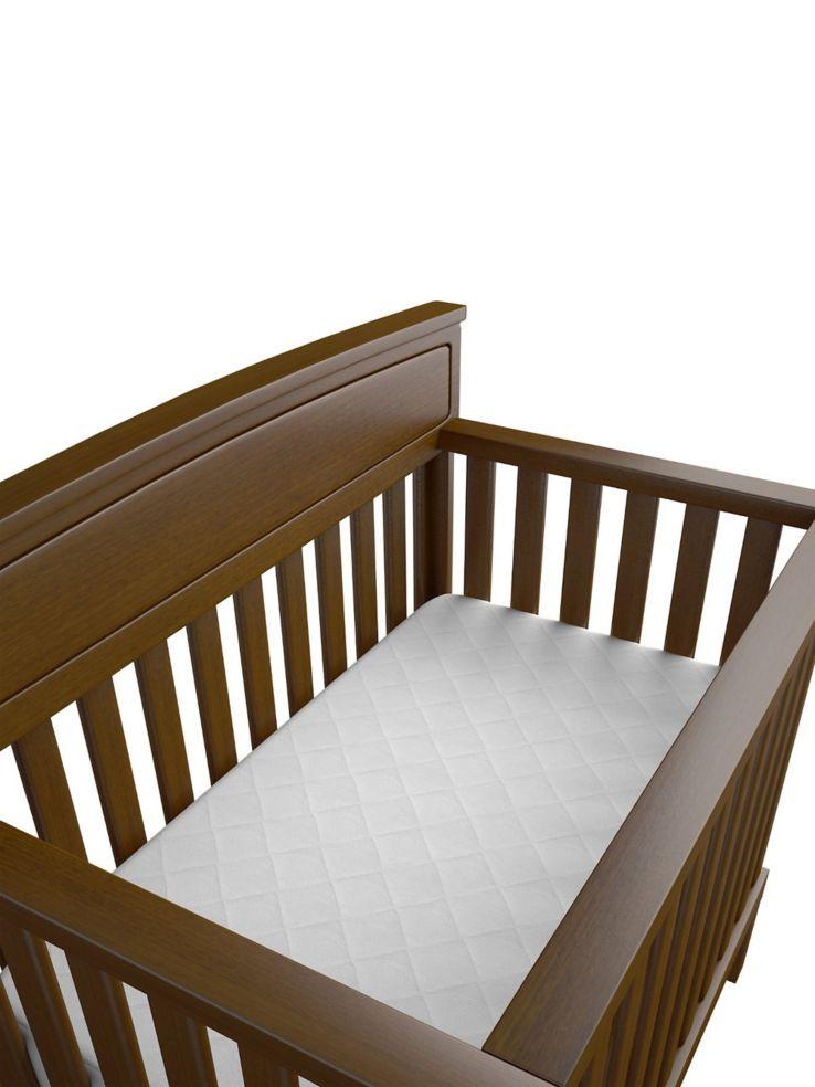 Baby Works Protecteur Pour Matelas De Lit De Bebe Matelasse En