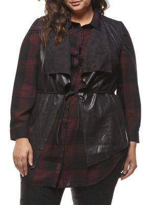 013c68aa1d9 Classic Asymmetrical Vest BLACK. QUICK VIEW. Product image