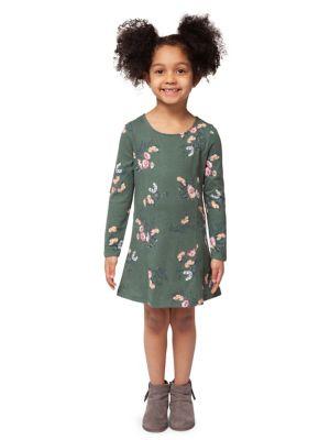 9de5109d5 Product image. QUICK VIEW. Dex. Little Girl's Floral Cotton Dress
