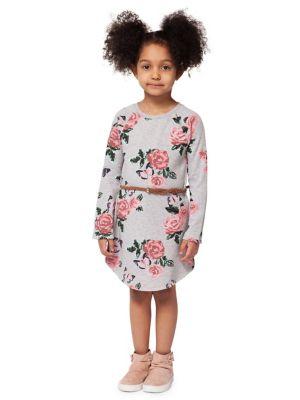 29ac050ef Product image. QUICK VIEW. Dex. Little Girl's Floral Cotton Blend Dress