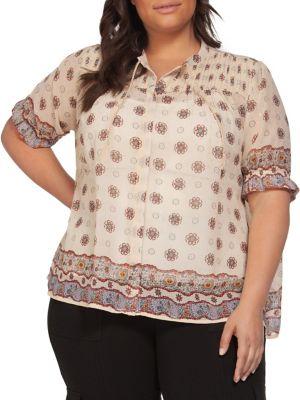 9a3a14f3ace Women - Women's Clothing - Plus Size - Tops - thebay.com