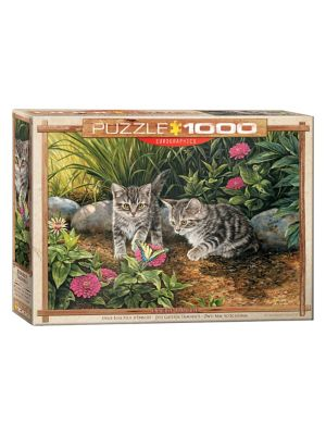 1000-Piece EuroGraphics Double Trouble Jigsaw Puzzle