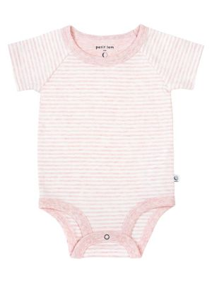 Tops & T-shirts First Impressions Baby Pink And White Floral Long Sleeve Shirt Size 6-9 Months