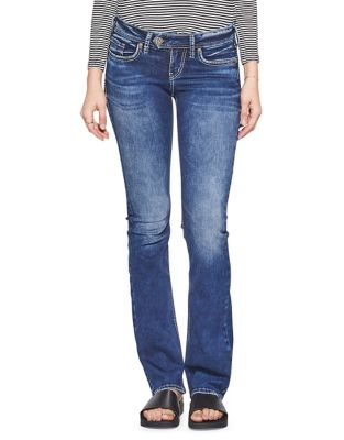 654f853e0832c Product image. QUICK VIEW. Silver Jeans. Tuesday Low-Rise Bootcut Jeans