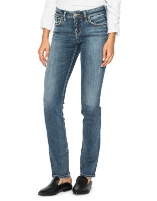 53dcd2576837b Product image. QUICK VIEW. Silver Jeans. Suki Straight Jeans
