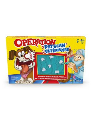 Operation Pet Scan Board Game Toy