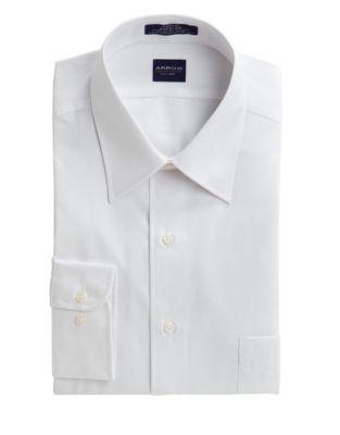 3b52ee86b9f89 Poplin Dress Shirt WHITE. QUICK VIEW. Product image