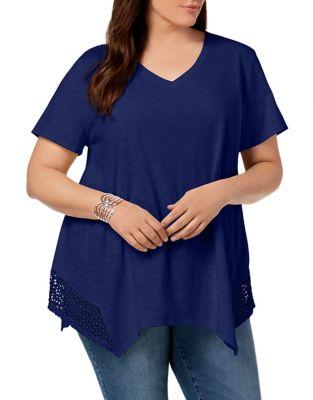 6a5117285d3ac5 Women - Women's Clothing - Plus Size - Tops - thebay.com