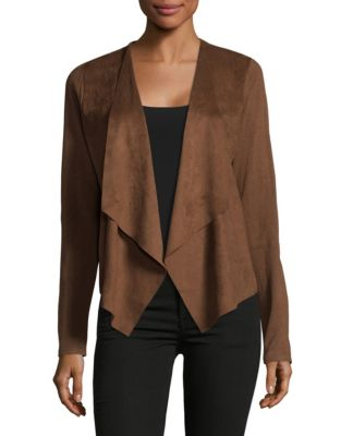 Product image. QUICK VIEW. I.N.C International Concepts. Moleskin Open  Front Cardigan 74515b728
