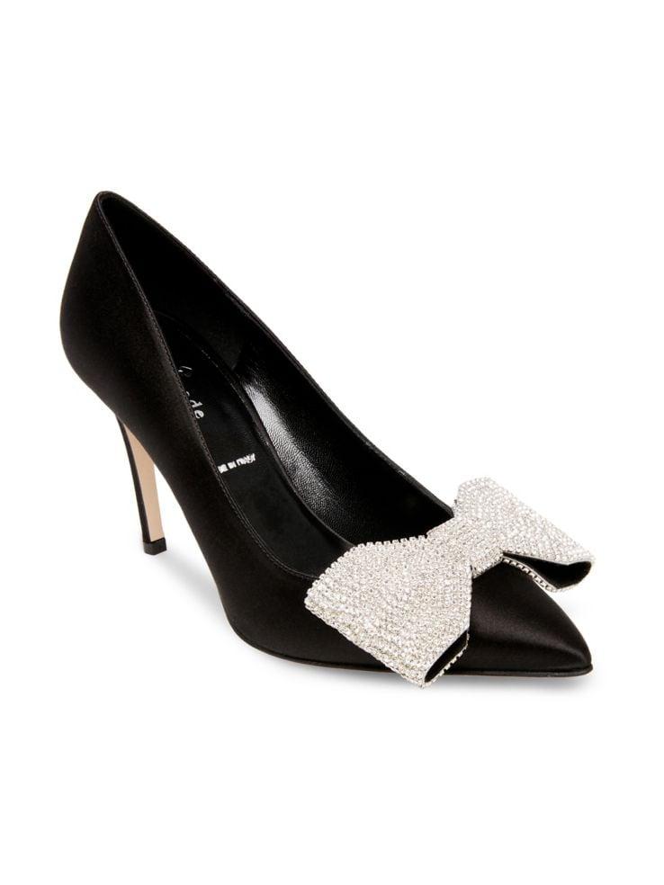 42f0aea7c1d5 Kate Spade New York - Viena Stiletto Heel Satin Pumps - thebay.com