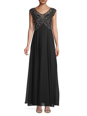 6b1f08ef5a QUICK VIEW. J Kara. Sequin Embellished Sleeveless Gown