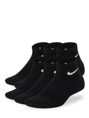 a00d14a319840 QUICK VIEW. Nike. 6-Pack Performance Cushioned Quarter Training Socks