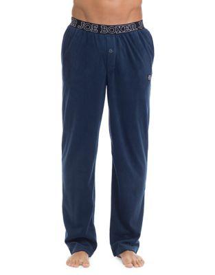 Microfleece Pajama Pants NAVY. QUICK VIEW. Product image 54a70c577