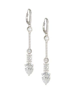 Quick View Nadri Revel Sterling Silver Earrings