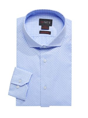 af867adf Regular-Fit Printed Dress Shirt LIGHT BLUE. QUICK VIEW. Product image