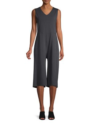 4e45b87c778f QUICK VIEW. Eileen Fisher. V-Neck Sleeveless Jumpsuit