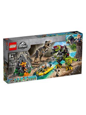 Jurassic World T. rex vs Dino-Mech Battle 75938