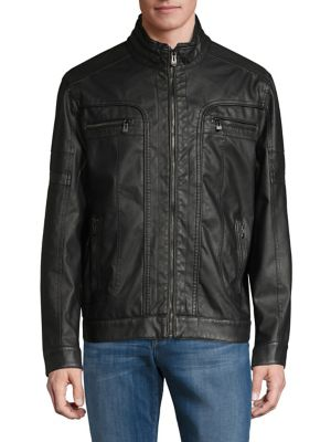 6a17fc24f Men - Men's Clothing - Coats & Jackets - Leather & Suede Jackets ...