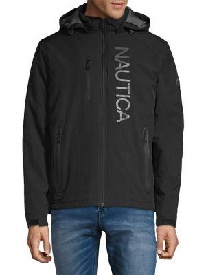 e0a9d7932b QUICK VIEW. Nautica. Logo Hooded Jacket